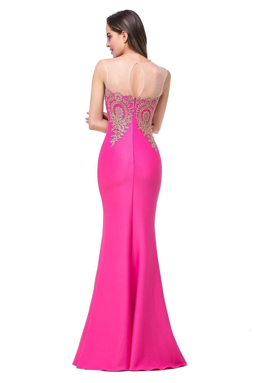 Stunning 😍 😍 Flowing, Long Mermaid Style Ball Gown - New 2018 ...