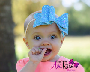 Ava Rose~ Blue & Pink Ice
