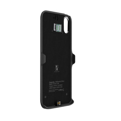 Krimston Dual SIM Case for iPhone XS - Silver