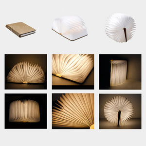 Magical Led Folding Book Lamp