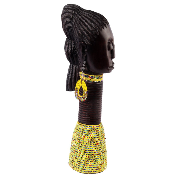 Beaded Ebony Princess