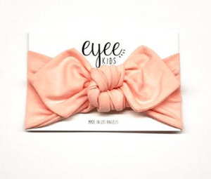 Peach Top Knot Headband - Lilac + Mae