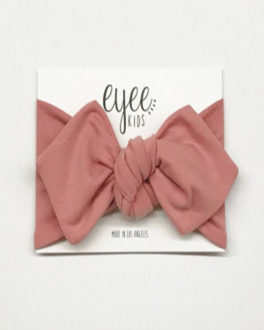 Blush Top Knot Headband - Lilac + Mae