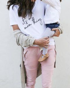 Mom Thing Tee - Lilac + Mae