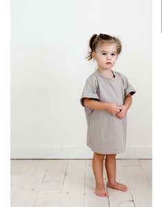 T-Shirt  Dress - Lilac + Mae
