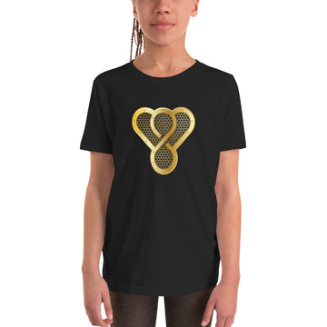 "Thankful ""Gold Music Speaker"" Youth Short Sleeve T-Shirt"