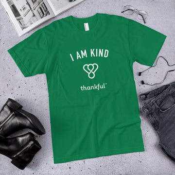 """I am Kind"" Emblem Short Sleeve Men's Jersey T-Shirt"