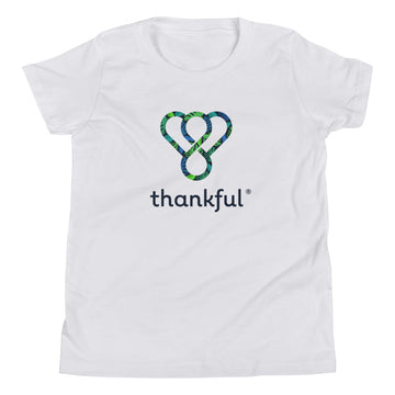 "Thankful ""Tropical"" Youth Short Sleeve T-Shirt"