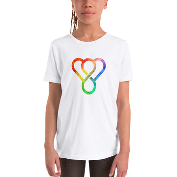 "Thankful ""Rainbow"" Youth Short Sleeve T-Shirt"