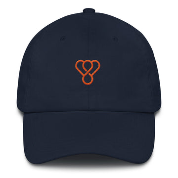 "Thankful ""Orange Logo"" Embroidered Unisex Cap"