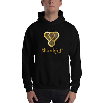 "Thankful ""Gold Music Speaker"" Unisex Heavy Blend Hooded Sweatshirt"