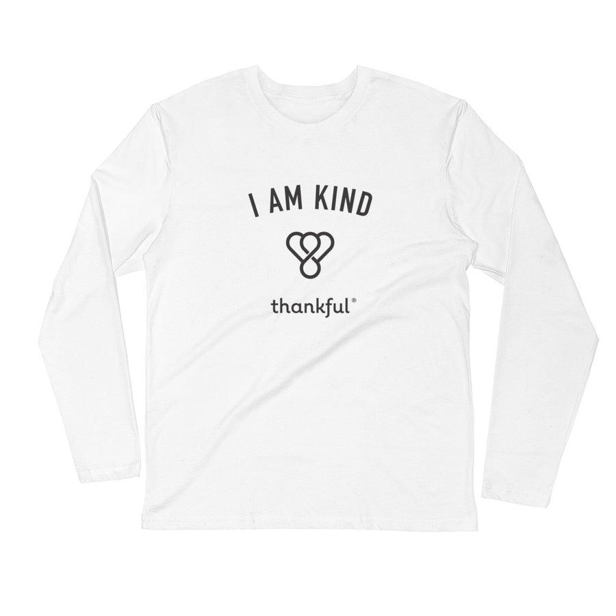 """I am Kind"" Emblem Long Sleeve Men's Crew T-Shirt"