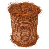 Brown Colored Pine Straw Roll