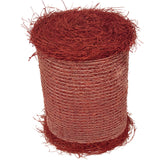 Red Colored Pine Straw Roll