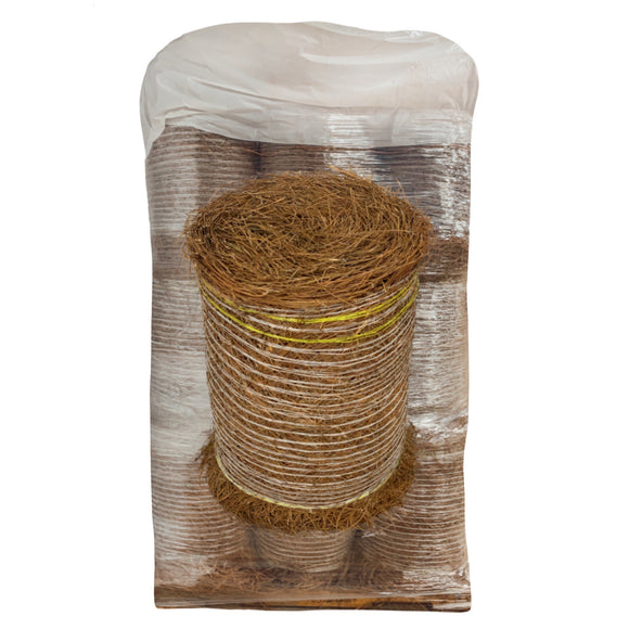 Pallet of 18 Non-Colored Pine Straw Rolls