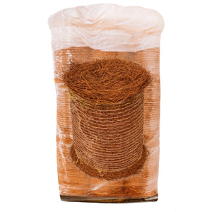 Pallet of 18 Brown Colored Pine Straw Rolls