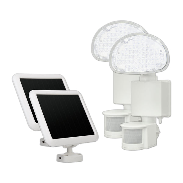Sunforce 45 LED Solar Motion Light- Twin Pack - Refurbished