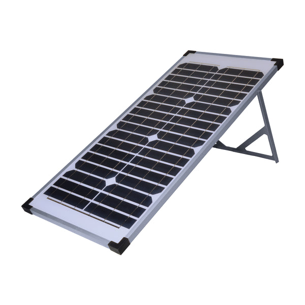 Coleman 40 Watt, 12V Solar Panel with Stand (CANADA ONLY) Refurb. / Panneau solaire 40W 12V Remis à neuf
