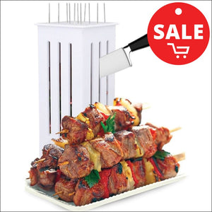 Easy Barbecue - Coupe brochettes facile - Easier cooking - Cuisine plus facile