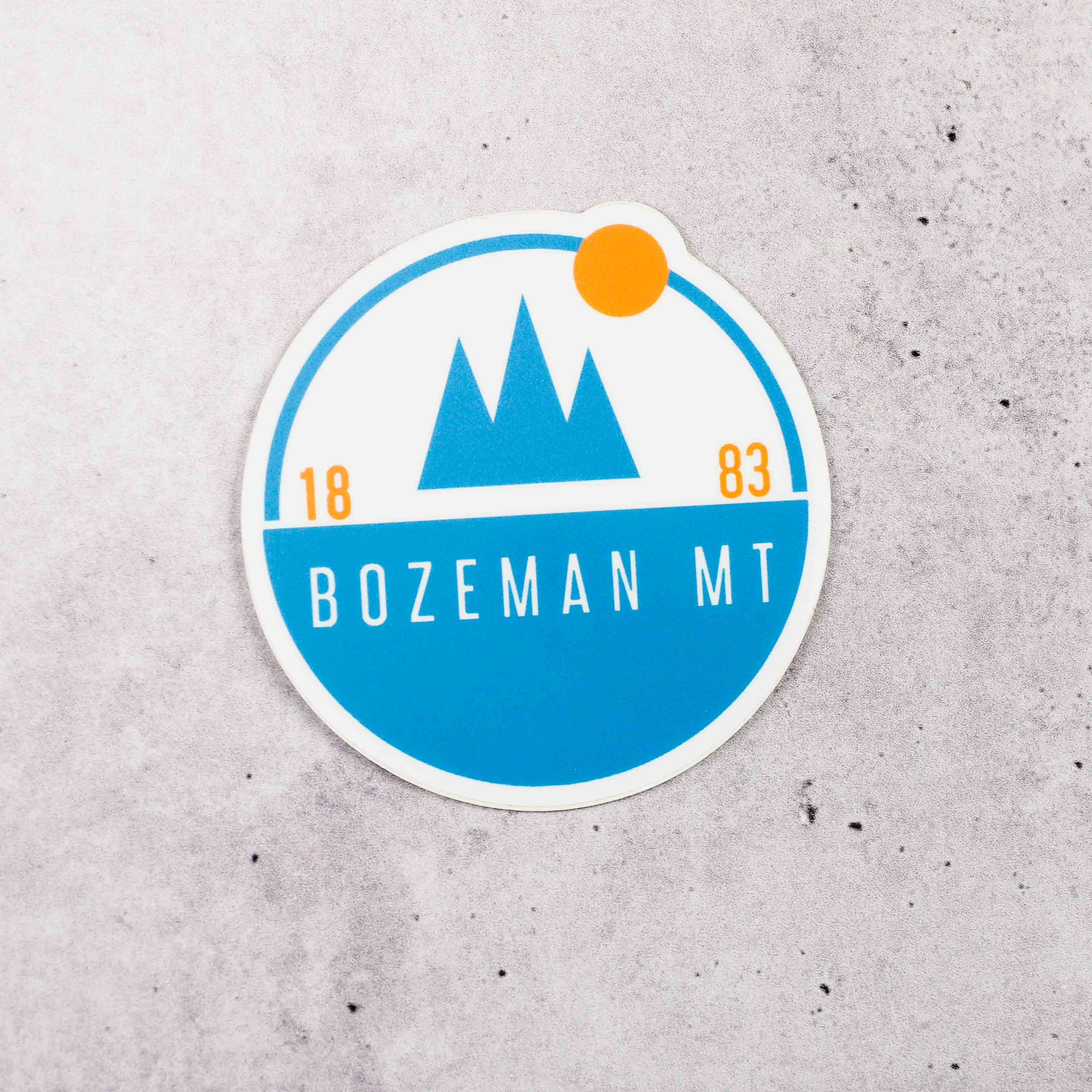 Scenic Bozeman Sticker - Intrigue Ink Visit Bozeman, Unique Shopping Boutique in Montana, Work from Home Clothes for Women