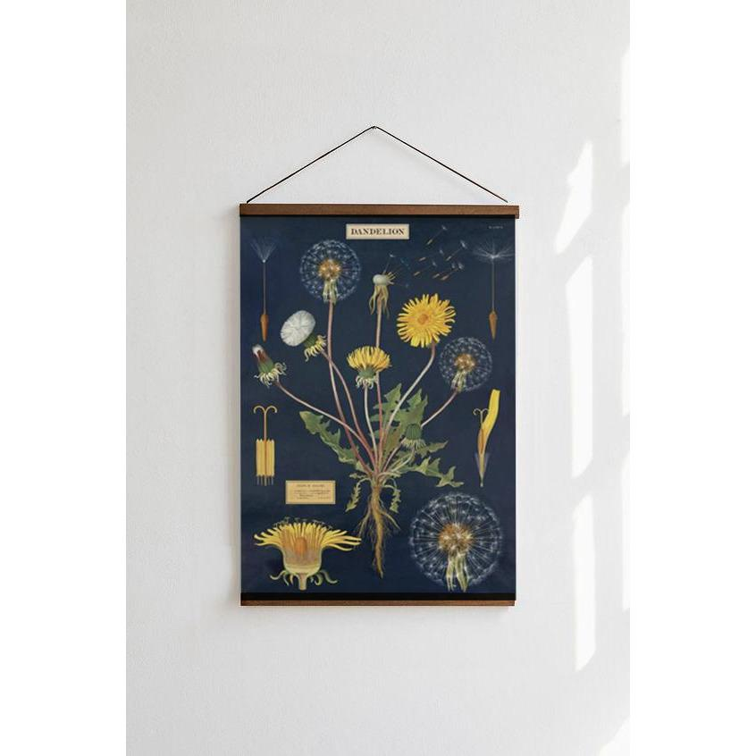Dandelion Cavallini Poster - Intrigue Ink Visit Bozeman, Unique Shopping Boutique in Montana, Work from Home Clothes for Women