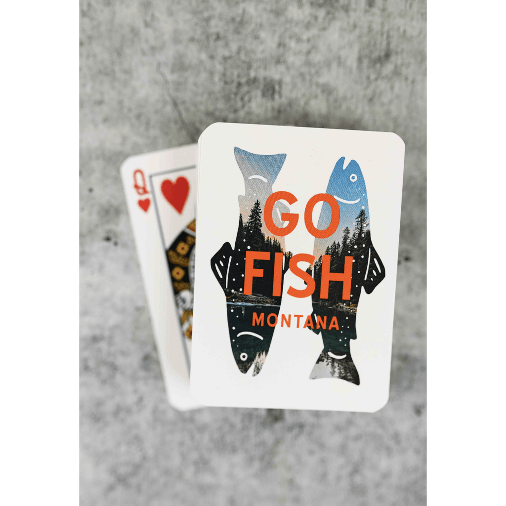 Go Fish Playing Cards - Intrigue Ink Visit Bozeman, Unique Shopping Boutique in Montana, Work from Home Clothes for Women