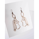 Wire Lady Earrings