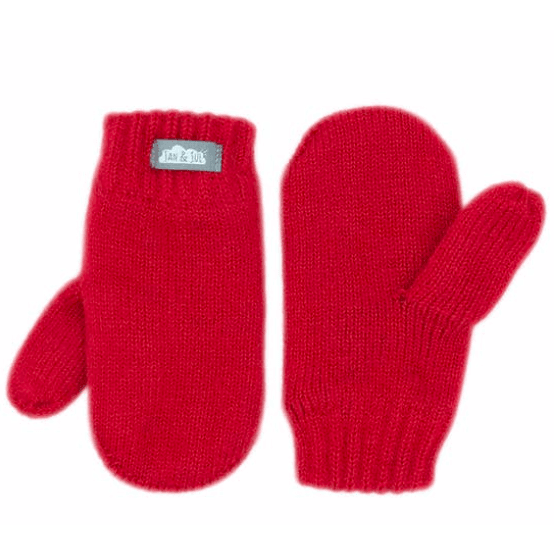 Red Knit Mittens - Intrigue Ink Visit Bozeman, Unique Shopping Boutique in Montana, Work from Home Clothes for Women
