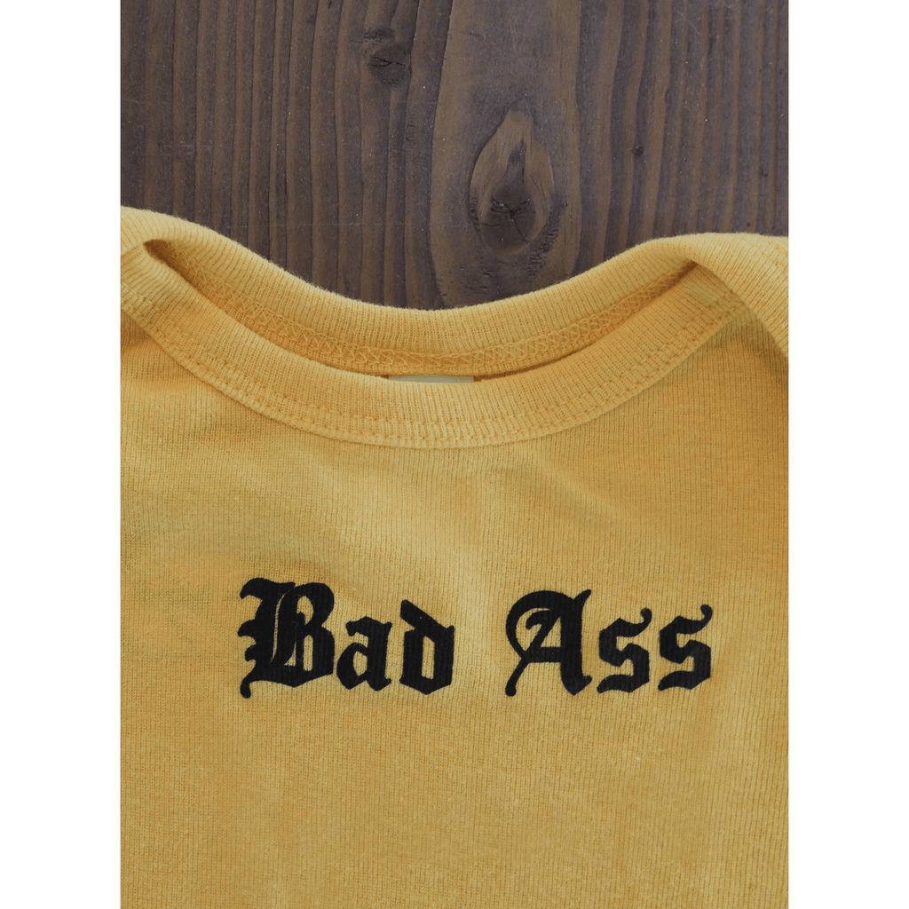 Bad Ass Toddler Tee - Intrigue Ink Visit Bozeman, Unique Shopping Boutique in Montana, Work from Home Clothes for Women