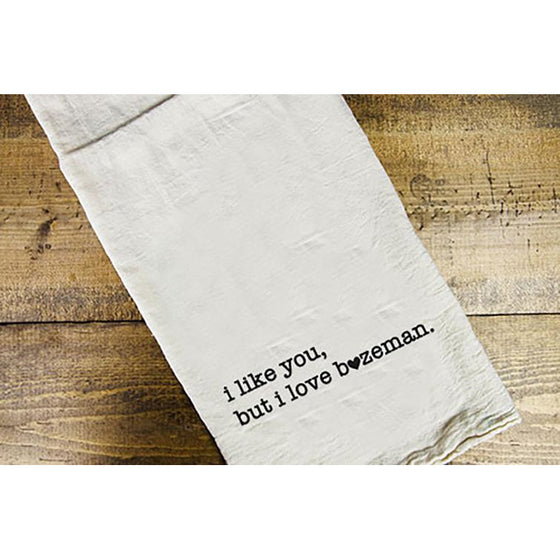 Like / Love Dish Towel