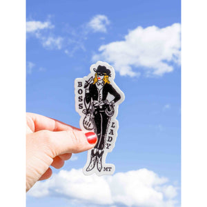 Boss Lady Sticker - Intrigue Ink Bozeman Boutique