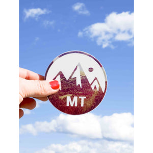 Montana Medallion Sticker - Intrigue Ink Bozeman Boutique