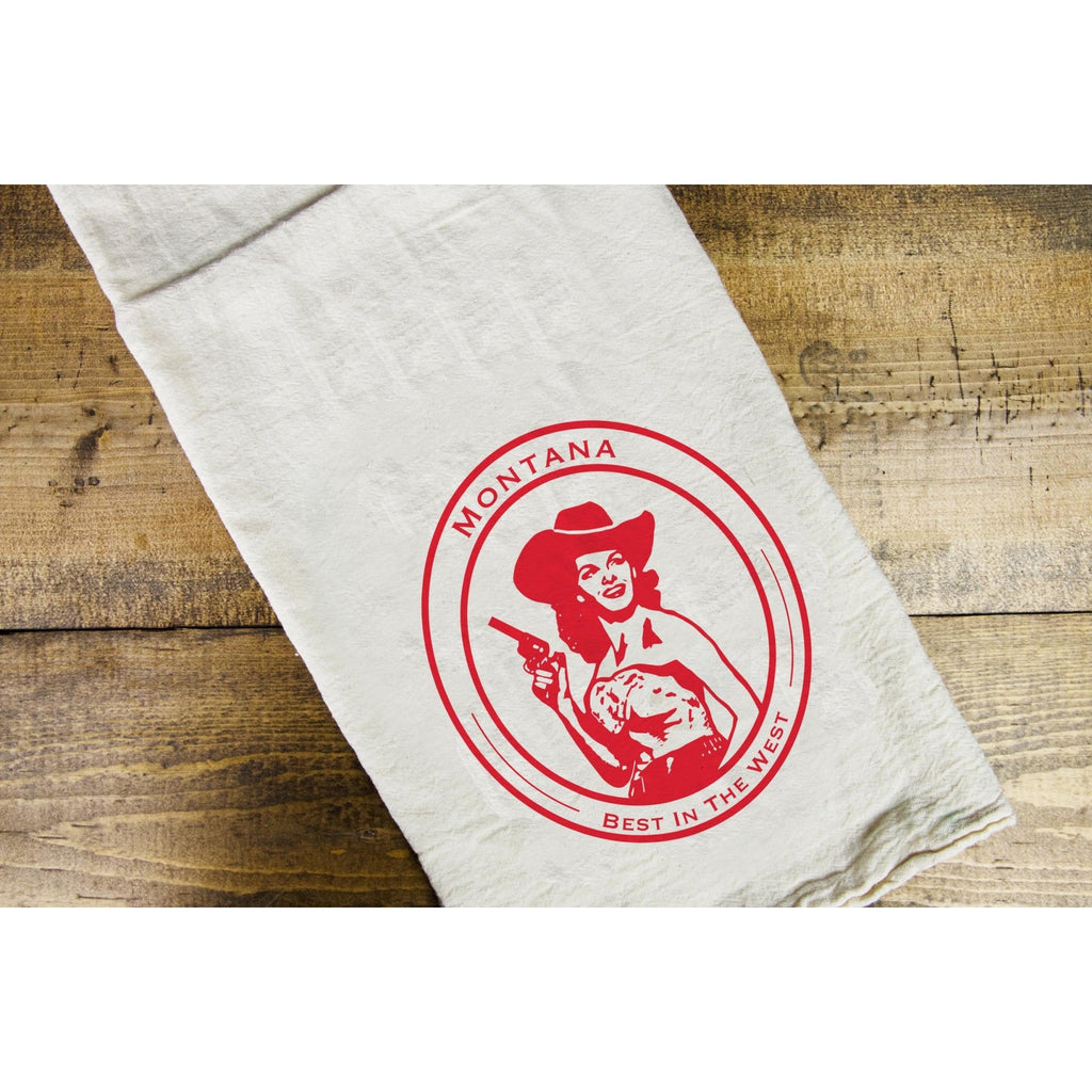 MT Gal Dish Towel - Intrigue Ink Bozeman Boutique