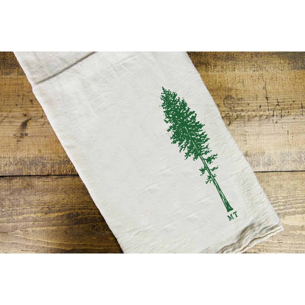 Ponderosa Dish Towel - Intrigue Ink Bozeman Boutique