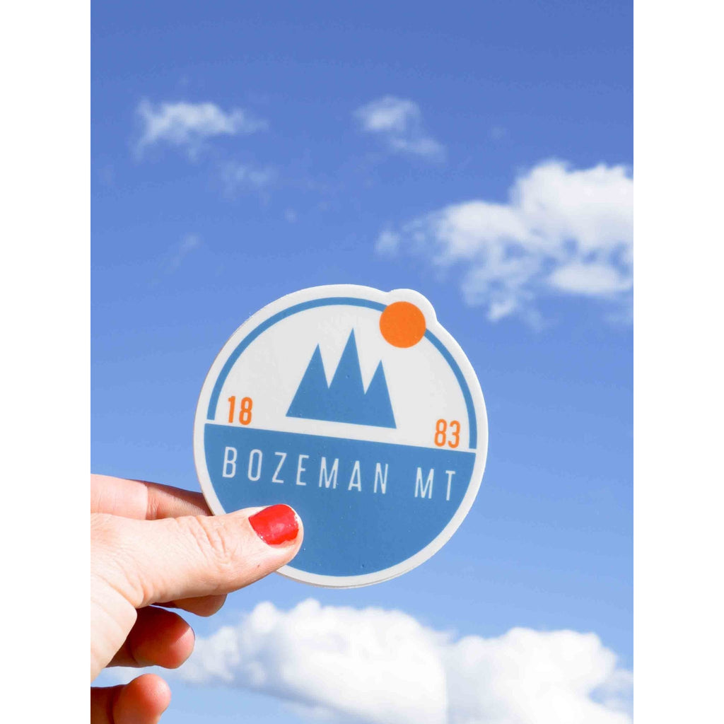 Scenic Bozeman Sticker - Intrigue Ink Bozeman Boutique