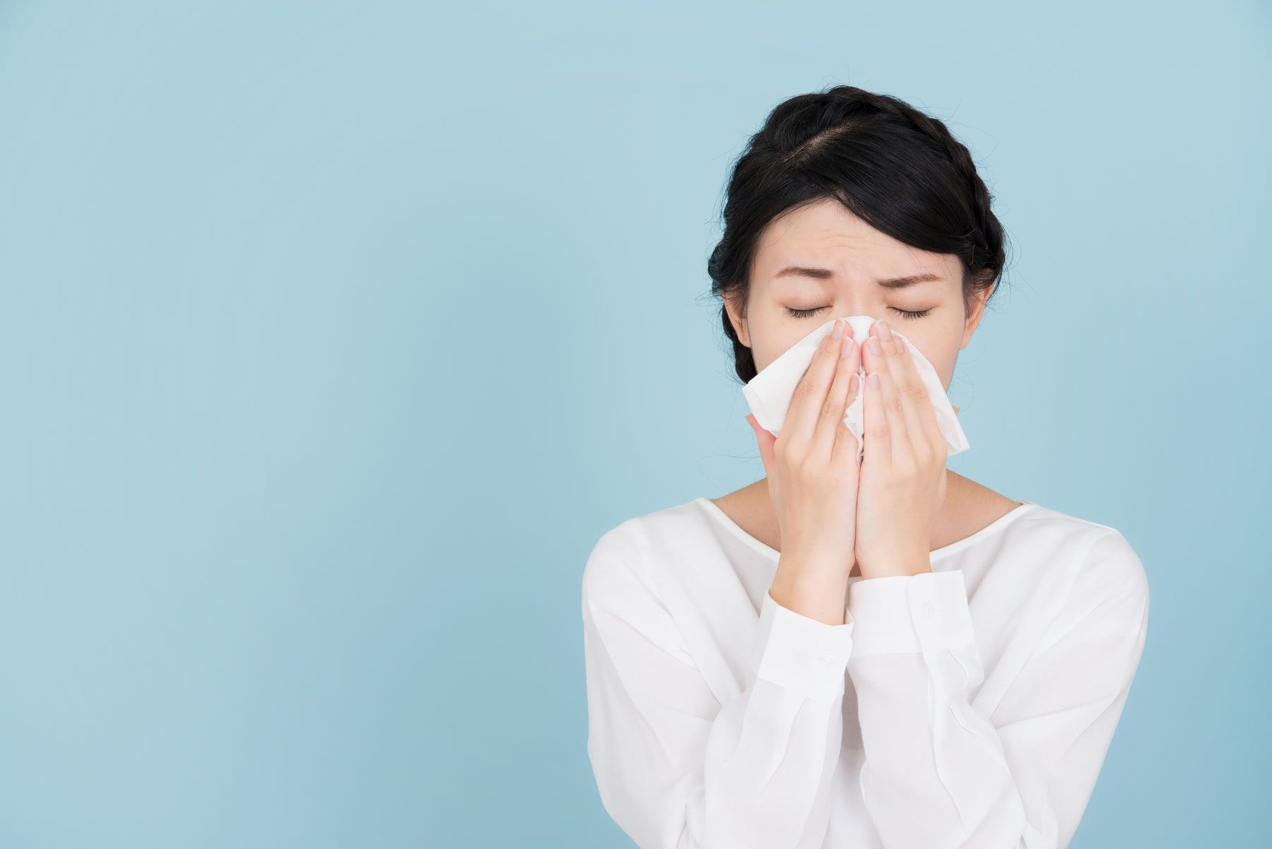 How hay fever can affect hearing