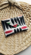 Load image into Gallery viewer, Leather Envelope Wallet- Card Holder - Pan-African Omi- PRE-ORDER