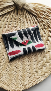 Leather Envelope Wallet- Card Holder - Pan-African Omi