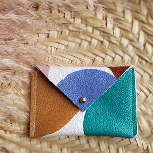 Leather Envelope Wallet-Card Holder-YoAhni