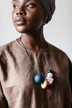 Load image into Gallery viewer, CIPRIANA - Wooden Bead Necklace
