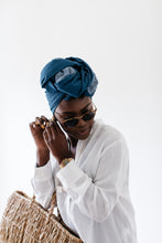 Load image into Gallery viewer, Digo - Denim Headwrap