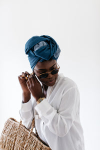 Digo - Denim Headwrap