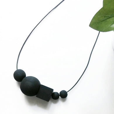 Wooden Beaded Necklace-Wednesday - PRE-ORDER