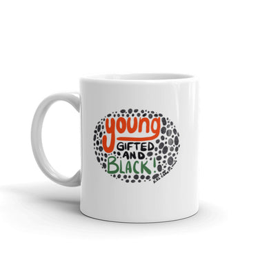 Ceramic Mug- Young Gifted and Black