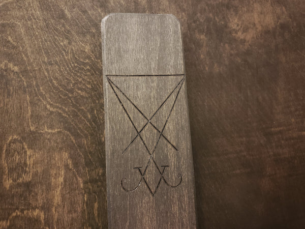 Sigil of Lucifer Slim Wall Sconce