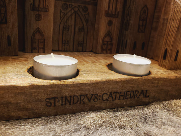 St Indrus Cathedral Candle Holder