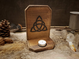 Triquetra Candle Holder
