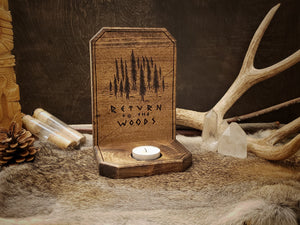 Return to the Woods Candle Holder