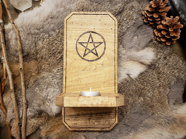 Pentacle Wall Sconce