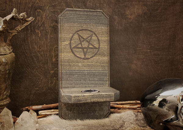 Pentagram Wall Sconce